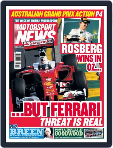 Motorsport News (Digital) March 23rd, 2016 Issue Cover