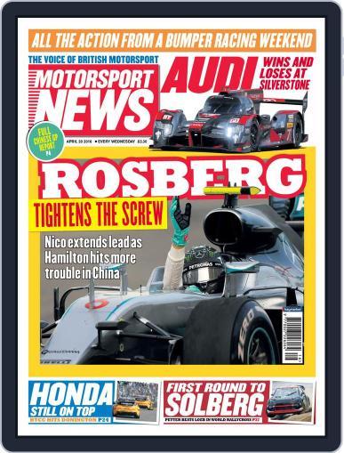 Motorsport News April 20th, 2016 Digital Back Issue Cover