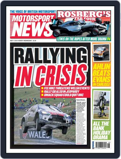 Motorsport News (Digital) May 4th, 2016 Issue Cover