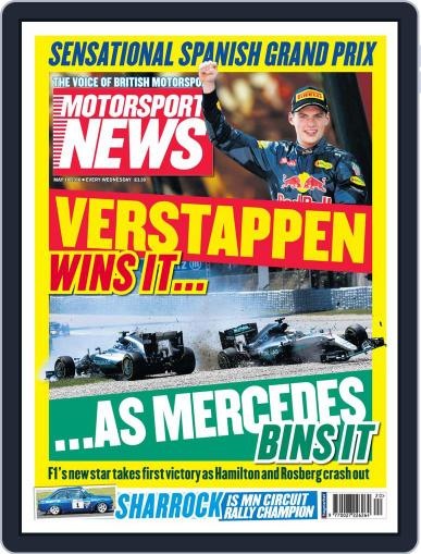 Motorsport News (Digital) May 18th, 2016 Issue Cover