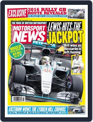 Motorsport News (Digital) June 1st, 2016 Issue Cover