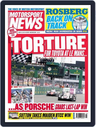 Motorsport News (Digital) June 22nd, 2016 Issue Cover