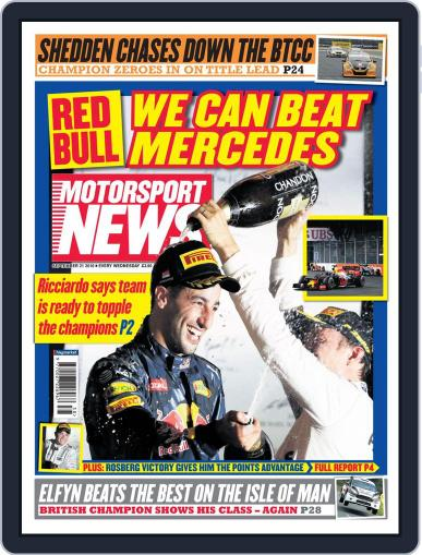 Motorsport News (Digital) September 21st, 2016 Issue Cover