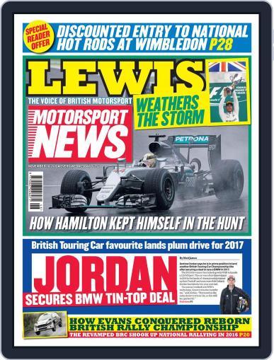 Motorsport News November 16th, 2016 Digital Back Issue Cover