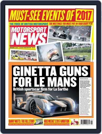 Motorsport News (Digital) January 4th, 2017 Issue Cover