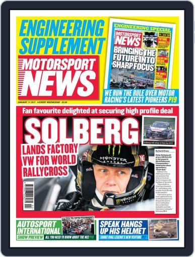 Motorsport News (Digital) January 11th, 2017 Issue Cover