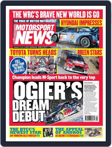 Motorsport News (Digital) January 25th, 2017 Issue Cover