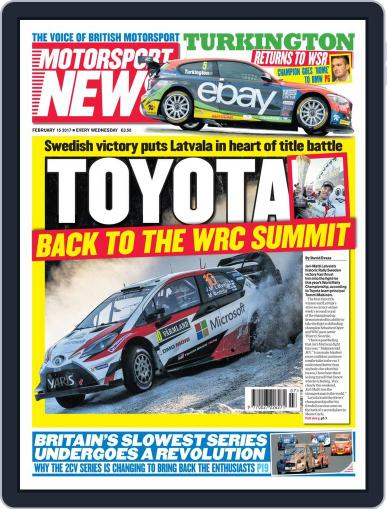 Motorsport News (Digital) February 15th, 2017 Issue Cover