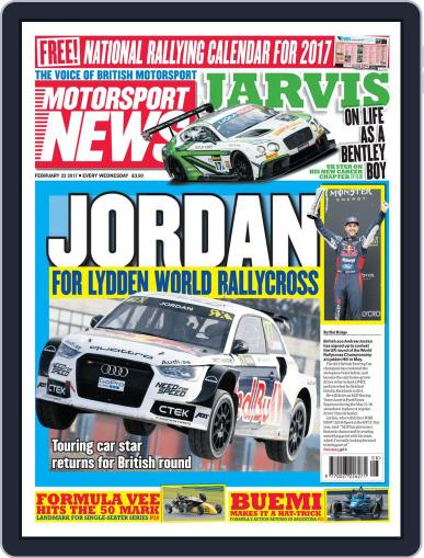 Motorsport News (Digital) February 22nd, 2017 Issue Cover
