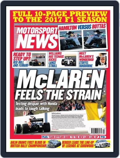 Motorsport News (Digital) March 22nd, 2017 Issue Cover