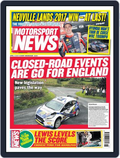 Motorsport News (Digital) April 12th, 2017 Issue Cover