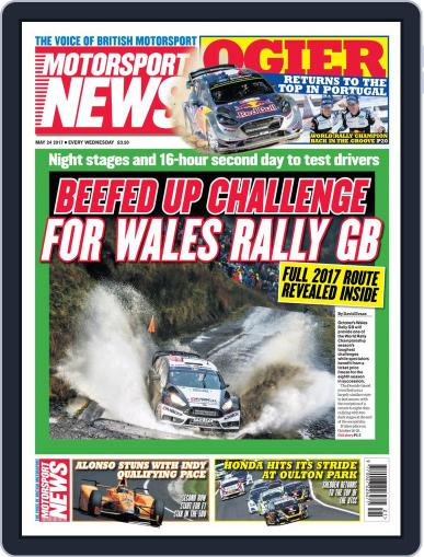 Motorsport News May 24th, 2017 Digital Back Issue Cover
