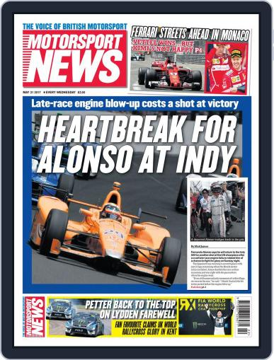 Motorsport News (Digital) May 31st, 2017 Issue Cover