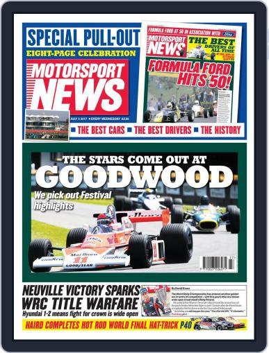 Motorsport News (Digital) July 5th, 2017 Issue Cover