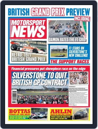 Motorsport News (Digital) July 12th, 2017 Issue Cover