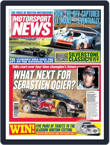 Motorsport News (Digital) July 26th, 2017 Issue Cover