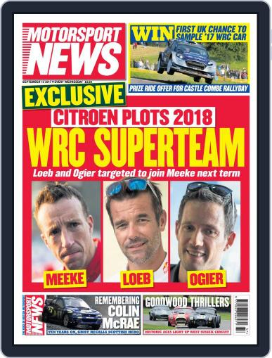 Motorsport News (Digital) September 13th, 2017 Issue Cover
