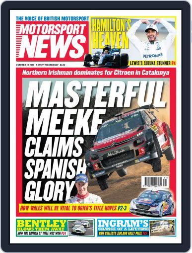 Motorsport News (Digital) October 11th, 2017 Issue Cover