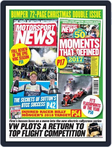 Motorsport News (Digital) December 27th, 2017 Issue Cover