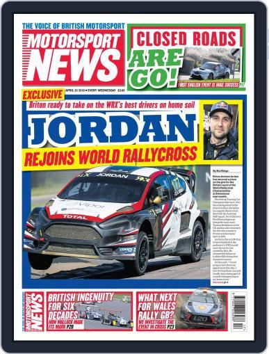 Motorsport News April 25th, 2018 Digital Back Issue Cover