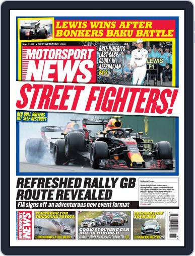 Motorsport News May 2nd, 2018 Digital Back Issue Cover
