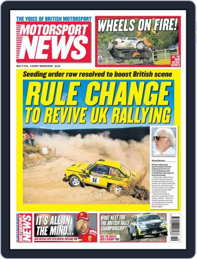 Motorsport News May 9th, 2018 Digital Back Issue Cover