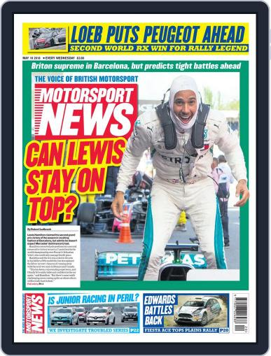 Motorsport News (Digital) May 16th, 2018 Issue Cover