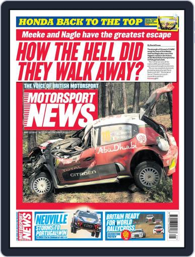 Motorsport News (Digital) May 23rd, 2018 Issue Cover