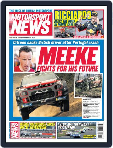 Motorsport News (Digital) May 30th, 2018 Issue Cover