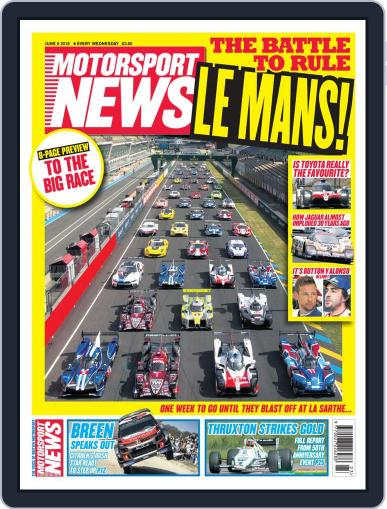 Motorsport News (Digital) June 6th, 2018 Issue Cover