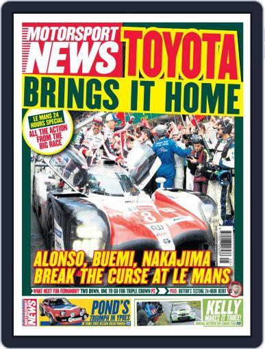 Motorsport News June 20th, 2018 Digital Back Issue Cover