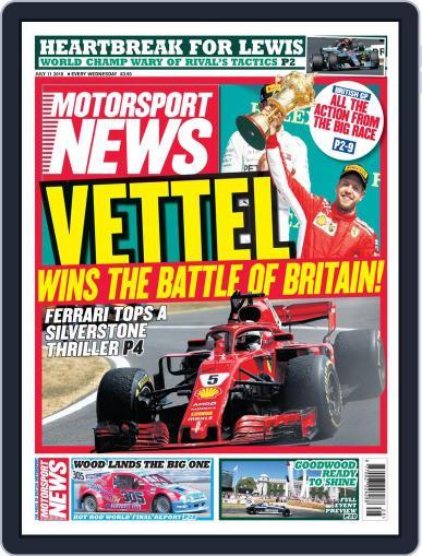 Motorsport News July 11th, 2018 Digital Back Issue Cover
