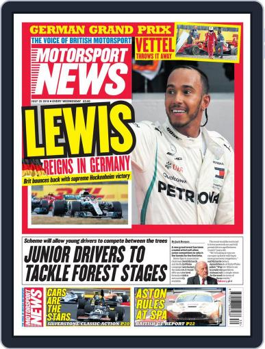 Motorsport News (Digital) July 25th, 2018 Issue Cover