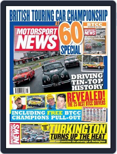 Motorsport News August 15th, 2018 Digital Back Issue Cover