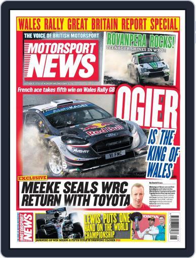 Motorsport News (Digital) October 10th, 2018 Issue Cover