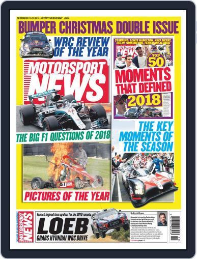 Motorsport News (Digital) December 19th, 2018 Issue Cover