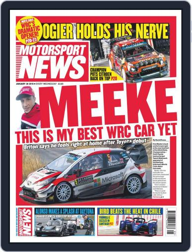 Motorsport News January 30th, 2019 Digital Back Issue Cover