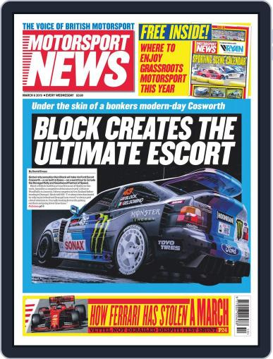 Motorsport News (Digital) March 6th, 2019 Issue Cover