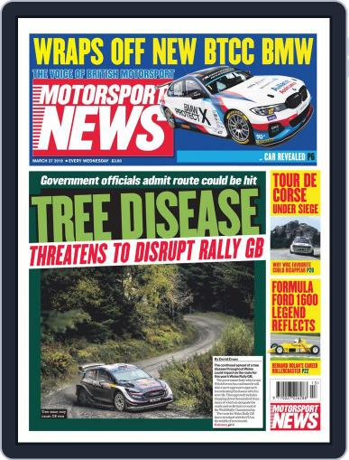 Motorsport News (Digital) March 27th, 2019 Issue Cover