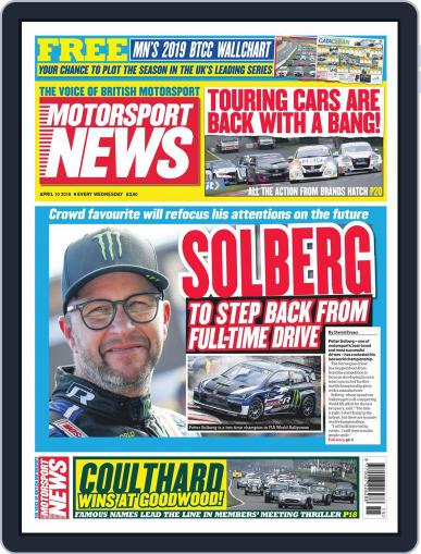 Motorsport News (Digital) April 10th, 2019 Issue Cover