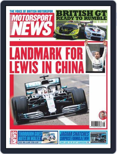 Motorsport News April 17th, 2019 Digital Back Issue Cover
