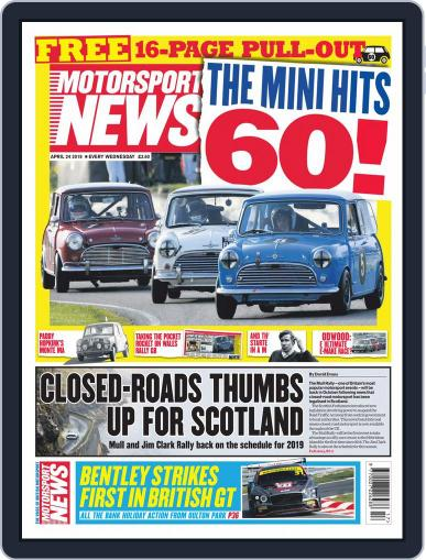 Motorsport News (Digital) April 24th, 2019 Issue Cover