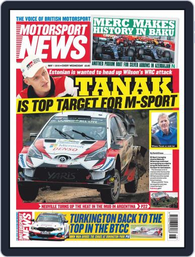 Motorsport News (Digital) May 1st, 2019 Issue Cover
