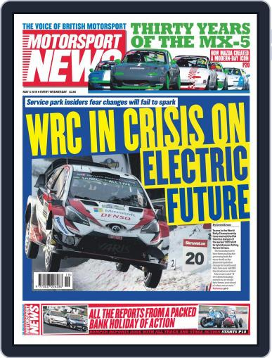 Motorsport News (Digital) May 8th, 2019 Issue Cover