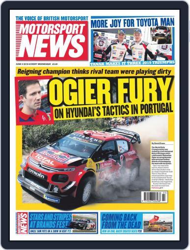 Motorsport News June 5th, 2019 Digital Back Issue Cover