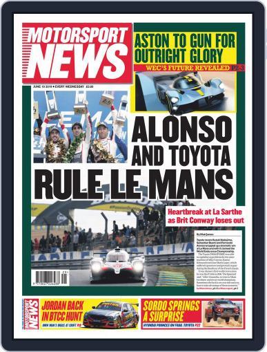 Motorsport News June 19th, 2019 Digital Back Issue Cover