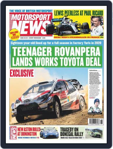 Motorsport News (Digital) June 26th, 2019 Issue Cover