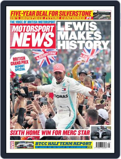 Motorsport News (Digital) July 17th, 2019 Issue Cover