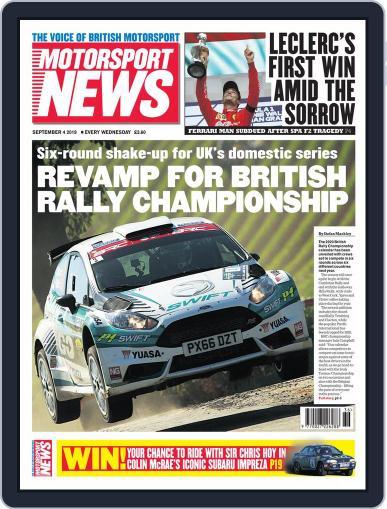 Motorsport News (Digital) September 4th, 2019 Issue Cover
