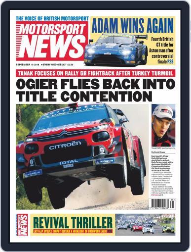 Motorsport News (Digital) September 18th, 2019 Issue Cover